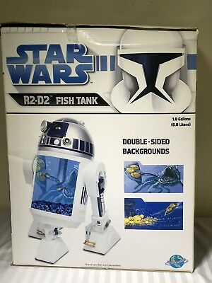 Star Wars R2_D2 Fish aquarium.