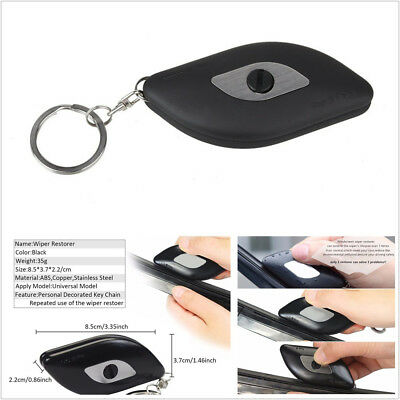 Black ABS &Stainless Steel Wiper Repair Tool For Car Windshield Blade Scratches