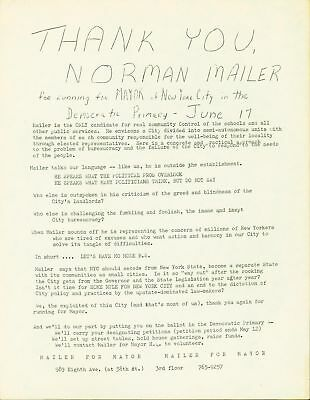 norman mailer citater EARLY 1960'S DICK Gregory Comedian, Civil Rights Activist Signed  norman mailer citater