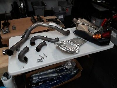 2006 Ducati 999  Stock Exhaust System