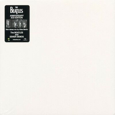 THE BEATLES - The White Album 50th 3CD 2018 Remix/ESHER DEMO-GREAT SOUND-NEW