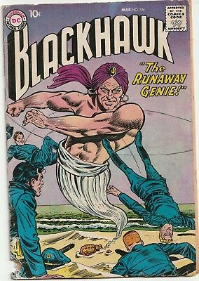 1959 DC Comics Blackhawk #134 READ DESCRIPTION