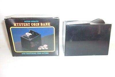 MYSTERY COIN BANK toy HAND oop MIB working HORROR monster JOHNSON SMITH