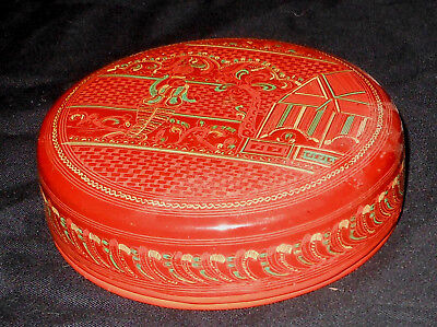NEAT Antique Golden Triangle Lacquerware 6 piece Glass coaster set hand crafted