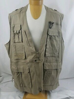 Nwt Humvee Safari Photo Vest 21 Pockets Hmv Vs K S New Fishing