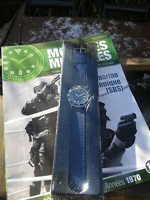 Eaglemoss Military Watch British Sbs Boat Commando 1970 Issue 3 Collectors Watch