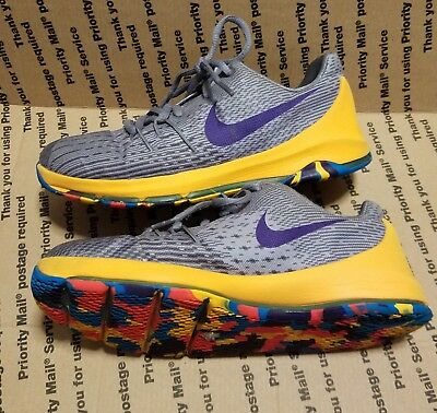 huge selection of 9c6e8 c7dbe Nike KD 8 Prince George Boys Girls Kids Youth Sneakers Shoes Size 2.5Y
