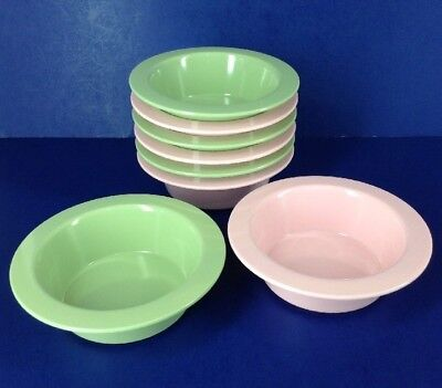Pottery Barn Kids Melamine Cereal Soup Bowls~Pick Green and/or Pink