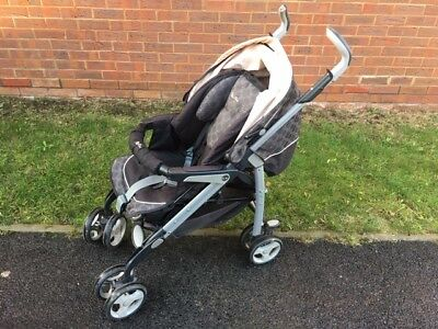 Silver Cross 3D Buggy/Pram/Pushchair/stroller, grey swirl