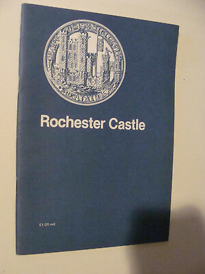 Rochester Castle 1985 UK  History/ Guide Book by R Allen Brown
