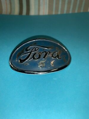 Ford  9N Farm Tractor Front Hood Badge-Replica Previousely Owned