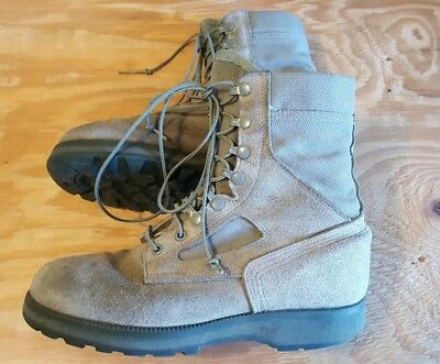 95cc1d85861 MCRAE FOOTWEAR WOMENS boots GORE-TEX Hot Weather Green Military Combat Size  10 R