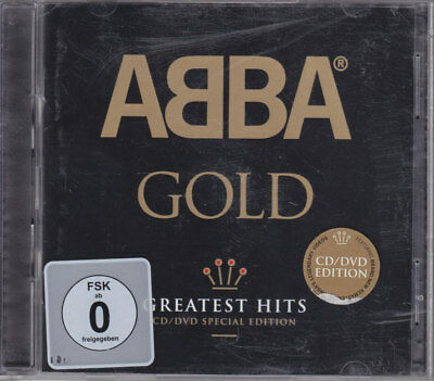 CD + DVD - Abba - Gold - Greatest Hits - SPECIAL EDITION - 2010