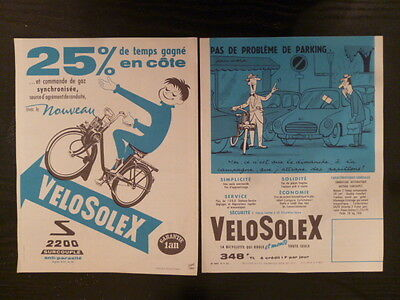 VELOSOLEX 2200 / catalogue brochure dépliant