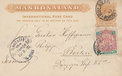 British South African company 1897 to Berlin