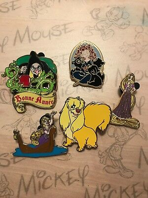 Lot Numéro 5 Pin's Disney Princesses