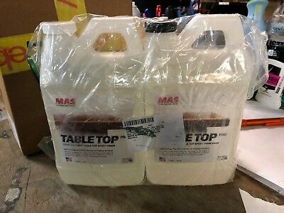 Crystal Clear Epoxy Resin One Gallon Kit | MAS Table Top Pro Epoxy Resin 1 & 2 @