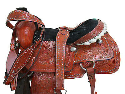 15 16 COWBOY TRAIL ROPING RANCH WORKING SELLER POUR CHEVAUX ROPER WESTERN SADDLE