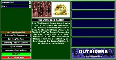 DOWNLOAD OUTSIDERS The Ultimate Winning Long Odds Horse Racing System