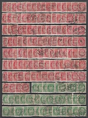 Stamps from Norway, good unchecked posthorn lot from old estate