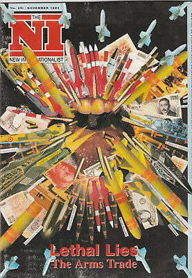 NEW INTERNATIONALIST Magazine November 1994 - Lethal Lies, The Arms Trade