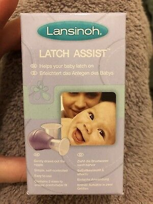 Lansinoh Latch Assist For Inverted Or Flat Nipples When Breastfeeding