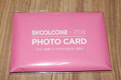 Iz*one Skoolooks X Izone Official Goods Photocard Photo Card Set Collection New