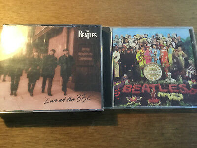 The Beatles [2 CD Alben] Live At The BBC + SGT. Pepper's Lonely Hearts Club Band
