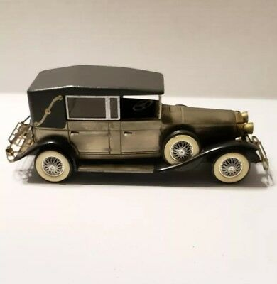 1928 Vintage Lincoln Sedan Car Replica  Am Radio #1294