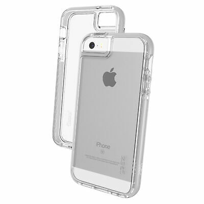Gear4 Piccadilly D30 Shockproof Case Cover for Apple iPhone 5 / 5S / SE - Silver