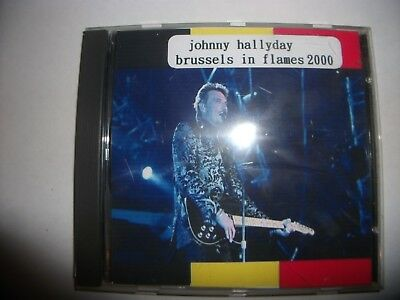 johnny Hallyday Brussels  in flames 2000