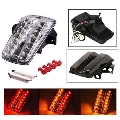 Super Bright Waterproof Universal Multifunction LED Tail Light for Caferacer