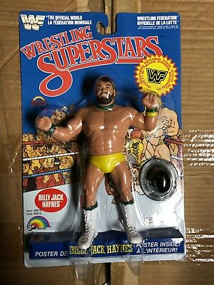 Billy Jack Haynes WWF Ljn wrestling figure RARE Moc Afa Quality Case Fresh