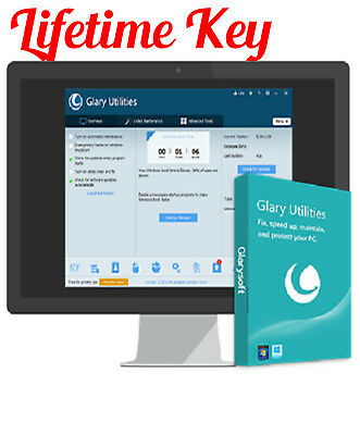Glary Utilities Pro 5 2019 NEW Lifetime Licence For 5 PCs & Fast Email Delivery