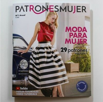 SEWING Patterns MAGAZINE WOMAN PATTERN BOOK spanish design Dresses Coats blouses