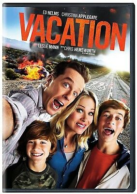 Vacation: Crazy Comedy, 2015, DVD Disc Includes Deleted Scenes