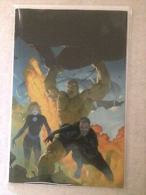 Fantastic Four #1 Esad Ribic 1:100 Virgin Variant NM