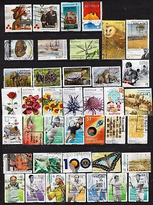 $1.00 Domestic Postage Rate Australian Stamps  All Different  Used