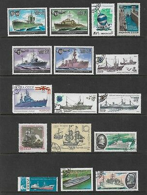 RUSSIA mixed collection No.60, Ships & Boats