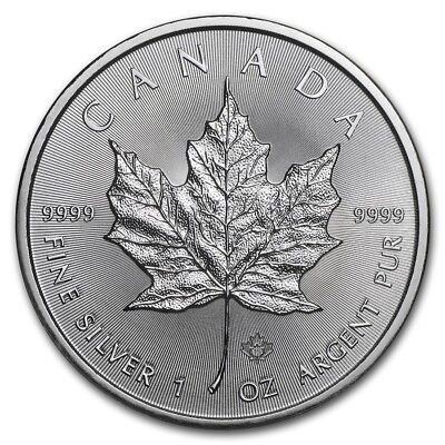 2019 Canada 1 oz. Silver Maple Leaf BU