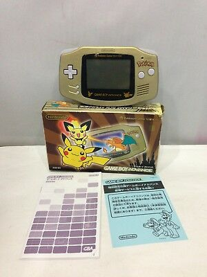 Nintendo Gameboy Advance Pokemon PokeCentre Limited Edition Console Boxed