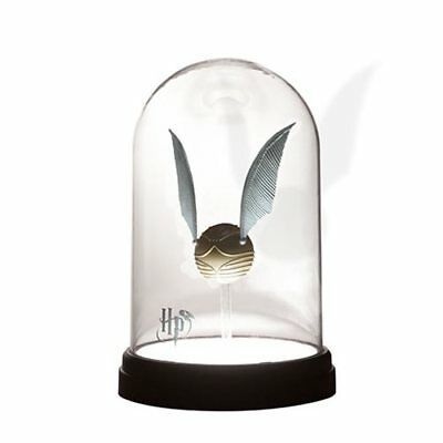 Paladone Harry Potter NEW * Golden Snitch Bell Jar Light * Accent Lamp Quidditch