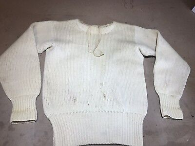 Vintage  Lanza Sweater Wool Pullover Letterman's Varsity 40