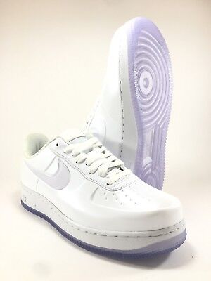 Nike Air Force One Af1 Foamposite Pro Cup Triple White Aj3664 100 Size 8