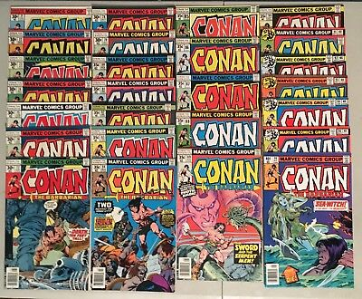Conan the Barbarian 71-94, 96, 98 [LOT of 26] 1977-79 Marvel Bronze Age - NICE!!