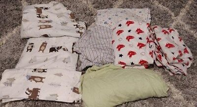 Pre-owned Crib/Toddler Bed Fitted Sheets (2 of 2 Sets)