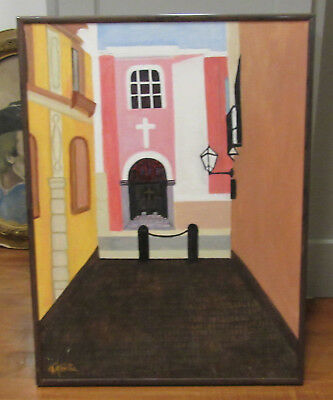 Florence Riso-Forte - Signed Original Painting - 18x24 Canvas Massachusetts