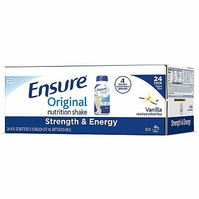 Ensure Original Nutrition Vanilla Meal Replacement Shakes with 9g of Protein 8