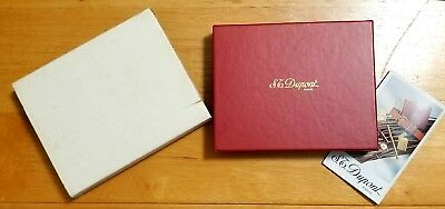 S.T Dupont Gift box with Outer White Outer Sleeve & Brochure