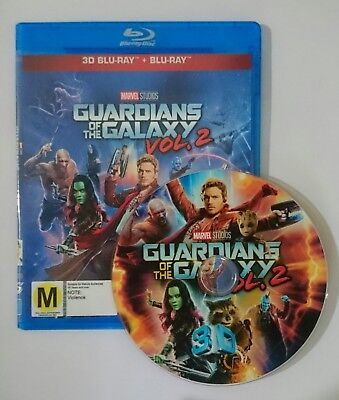 Guardians of the Galaxy Vol. 2 [3D Blu-ray Disk] **Region Free**